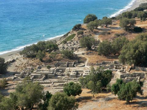 archeologické naleziště Komos