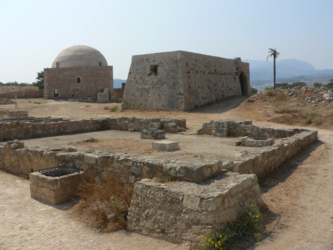 benátsko-turecká pevnost v Rethymnu