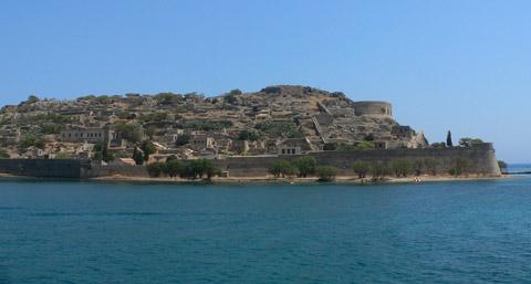 ostrov malomocných - Spinalonga