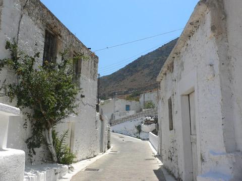 uličky v původní vesnici Hersonissos