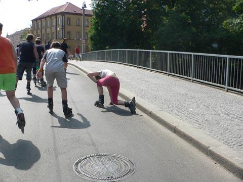 Pardubice na bruslích - crash 2