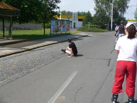 Pardubice na bruslích - crash 5