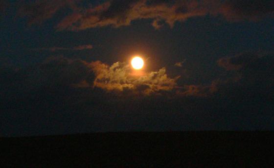 Měsíc nad Točnou